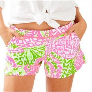 Lilly Pulitzer Adie Shorts Size 8